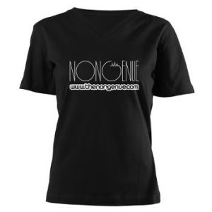 A t-shirt from a giveaway on thenongenue.com.
